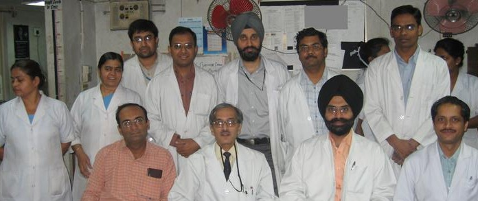 Team at AIIMS