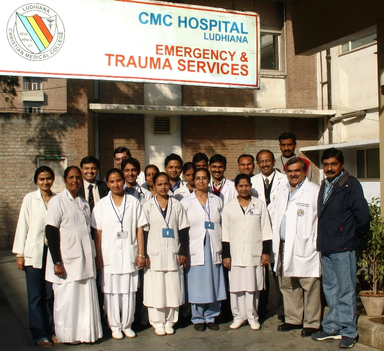 Team at Christian Medical College